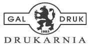 logotyp GAL DRUK DRUKARNIA
